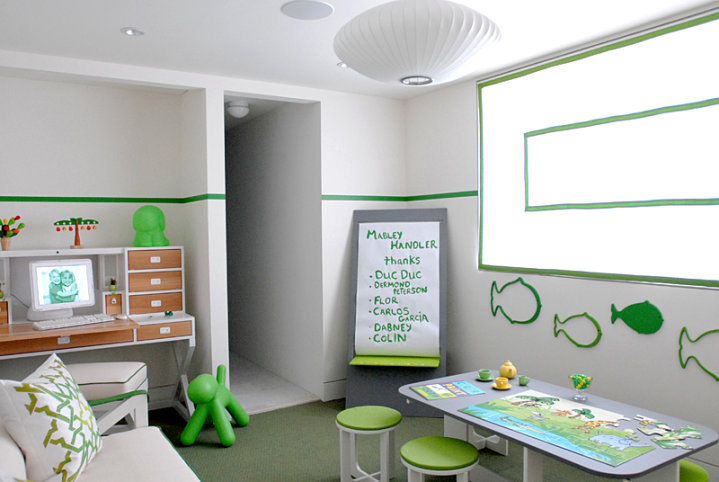 Basement Playroom Design