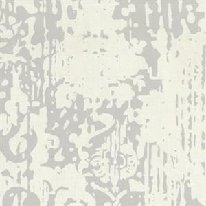 Majestic Wallpaper in Grey and Ivory by York