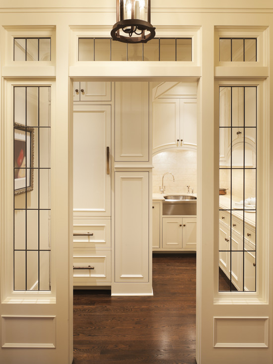 Butler 39 s pantry ideas transitional kitchen murphy for Kitchen designs with butler pantry