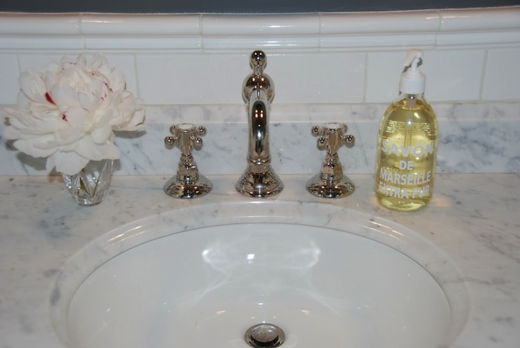 Rohl Country Bath Widespread with Column Spout and Cross Handles ...