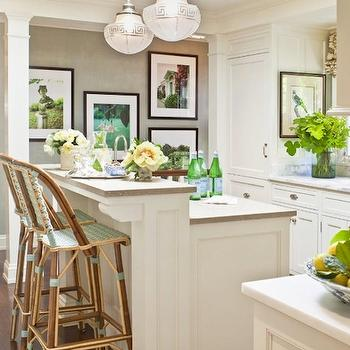 French Bistro Counter Stools Design Ideas
