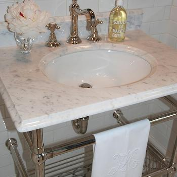 Amherst Gray, Transitional, bathroom, Benjamin Moore Amherst Gray, Pretty Pink Tulips