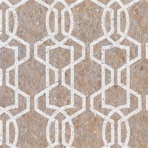 silhouette cork effect wallpaper in beige by york