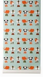 Marionette Wallpaper by Ferm Living, Burke Decor