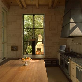 Rustic Stone Fireplace Design Ideas