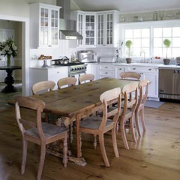 Beadboard Backsplash, Country, kitchen, Mabley Handler