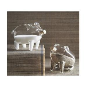 Threshold Grey And Ivory Pig Kitchen Rug