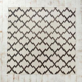 UrbanOutfitters.com > Magical Thinking Diamond-Stamp Rug