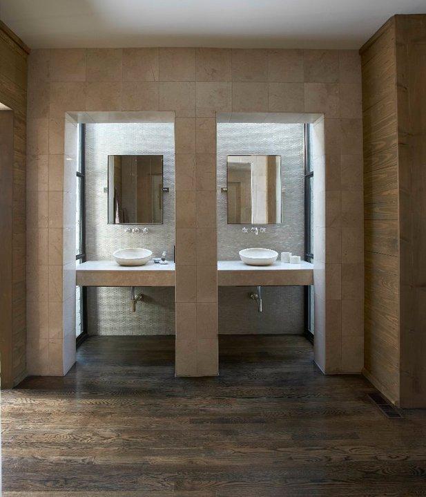 Bathroom Vanity Nook Contemporary Bathroom Tracery