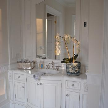 Bow Front Vanity