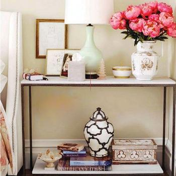 Styled Nightstand, Contemporary, bedroom, Country Living