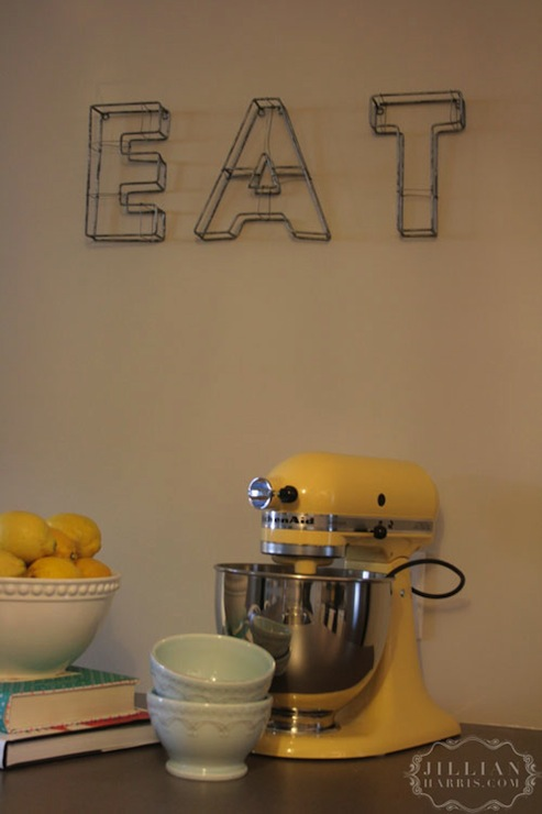 Yellow Accents Transitional Kitchen Jillian Harris