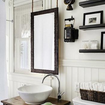 Repurposed Washstand, Cottage, bathroom, Antonio Martins