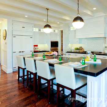 L Shaped Kitchen, Transitional, kitchen, Opal Design Group