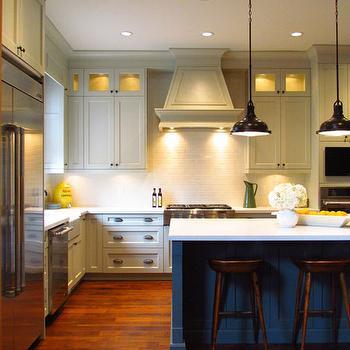 Light Grey Kitchen Island