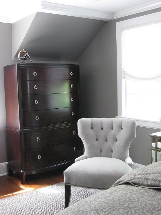 Galveston Gray, Transitional, bedroom, Benjamin Moore Galveston Gray