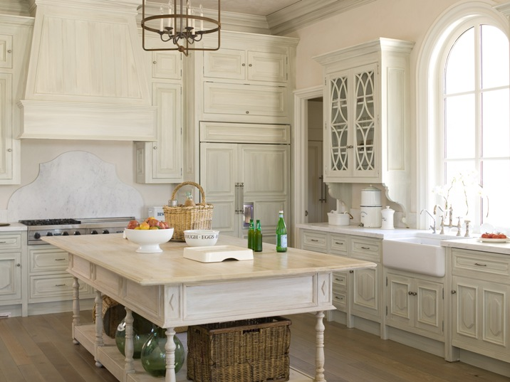 Hand Painted Kitchen Cabinets Magnificent Hand Painted Cabinets  Cottage  Kitchen  Phoebe Howard Decorating Inspiration