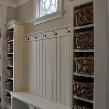 Mudroom Design, Cottage, laundry room, FGH Architects
