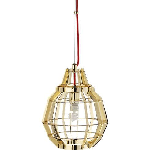 cage brass pendant lamp in pendant lamps - CB2 - Brass Pendant Lamp In Pendant Lamps - CB2