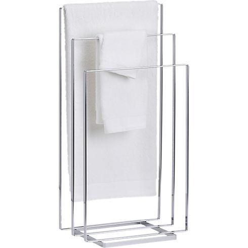 Square Floor Towel Rack