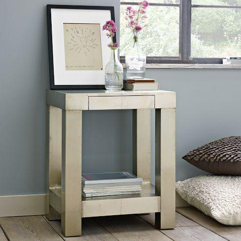 Parsons End Table Metal West Elm - West elm parsons end table