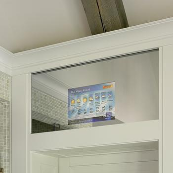 Hidden Bathroom Tv