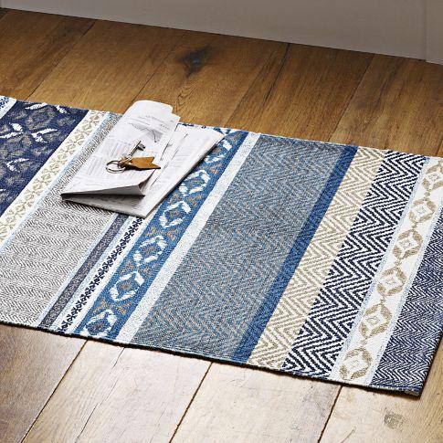 Harvest Printed Floor Mat, west elm
