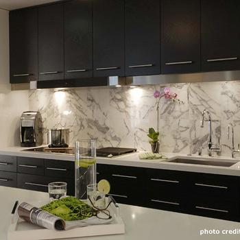 Espresso Cabinets, Contemporary, kitchen, Casey Banks Design