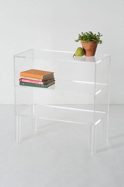 Illusion Bookshelf, Anthropologie.com