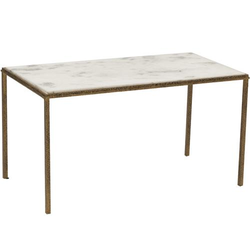 Hammered Coffee Table Tray: Hammered Tray + Stand