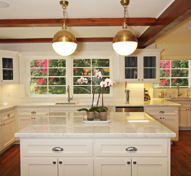Thomas O Brien Hicks Pendant Transitional Kitchen