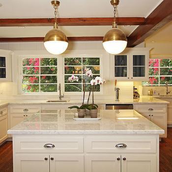 Thomas O'Brien Hicks Pendant, Transitional, kitchen, Jenn Feldman Designs