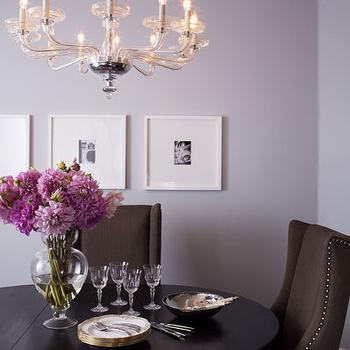 Purple Dining Room Walls Design Ideas