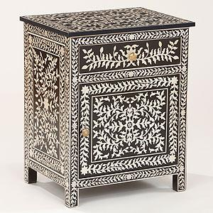 Kiran Faux Inlay Cabinet   Living Room Furniture| Furniture   World Market