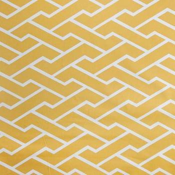 Caitlin Wilson Textiles: Mustard City Maze Fabric