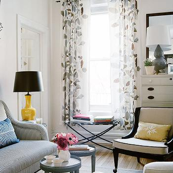 Ikea Window Treatments, Contemporary, living room, Traditional Home