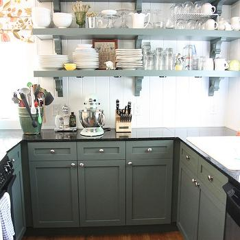 Hunter Green Kitchen Cabinets Design Ideas