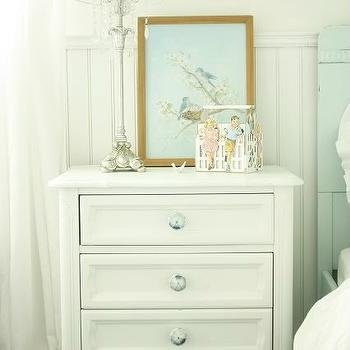 Girl's Nightstand, Cottage, girl's room, In the Fun Lane