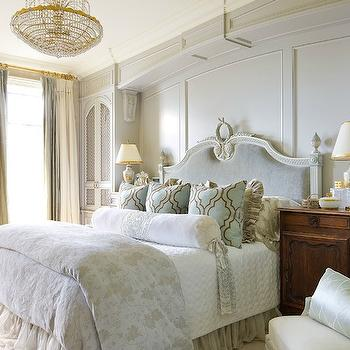 French Headboard, French, bedroom, Brandon Barre Photography