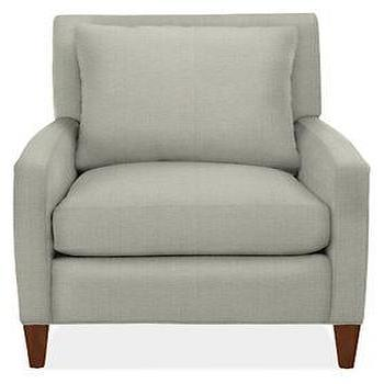 Emory Chair & Ottoman, Chairs, Living, Room & Board