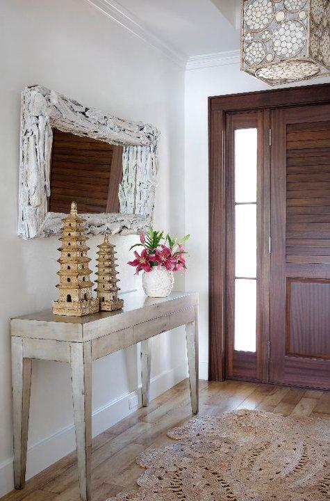 Cornerstone Floor Mirror in White