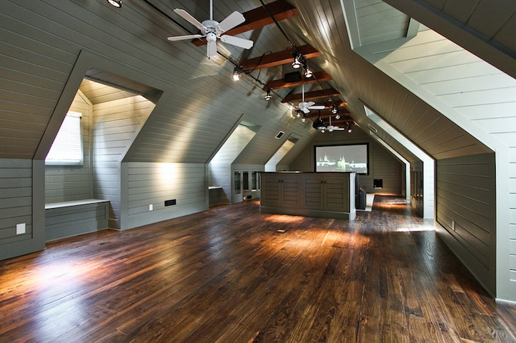 Wood paneling design ideas Rustic style attic design a corner full of passion