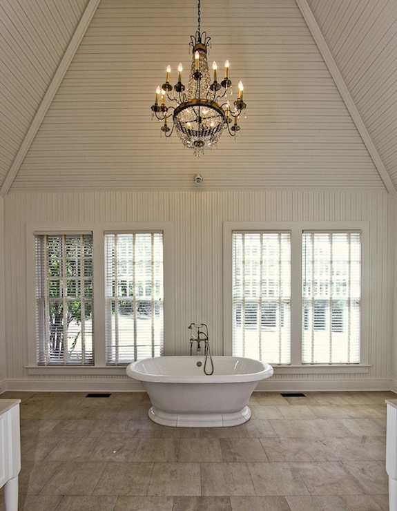 Vaulted Ceiling Bathroom Traditional Bathroom Pricey