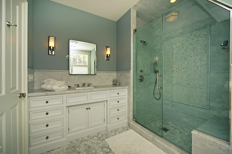 Walk In Shower Design Transitional Bathroom Pricey Pads