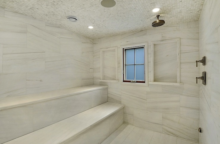 Master Bathroom Sauna Design Ideas