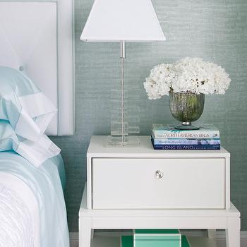 Tiffany Blue Lacquer Box, Contemporary, bedroom, Patricia Fisher Design