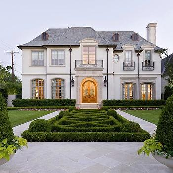 French Chateau, French, home exterior, Pricey Pads
