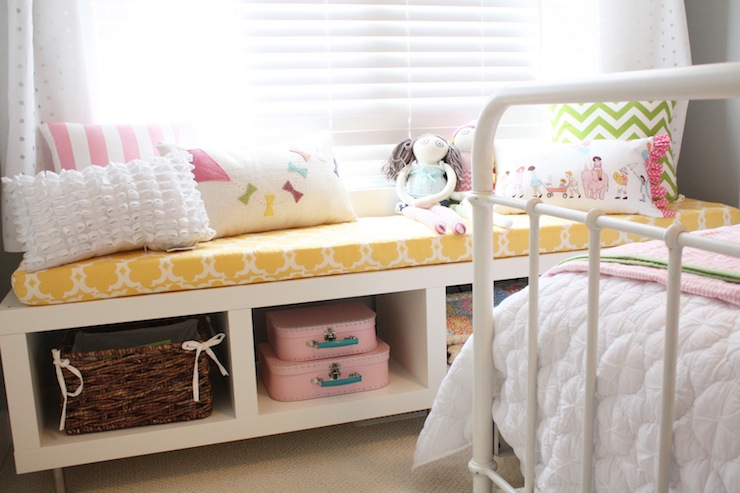 Ikea Bench Transitional Girl S Room General Paint