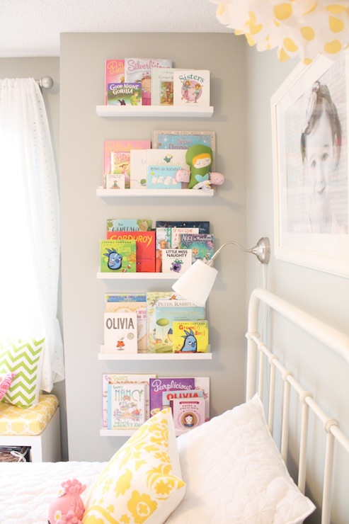 Ikea Ribba Picture Ledge - Transitional - girl's room