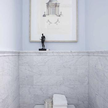 Bianco Carrara Marble Subway Tile
